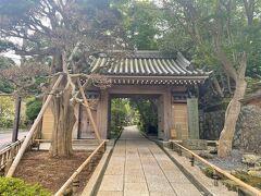 汗も引いたので、すぐ近くの竹林で有名な報国寺さんにも行きましょ。