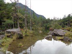 とても綺麗な池でした.紅葉の時期に来たかった.