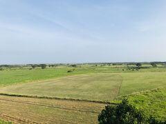 黒島展望台から、久々に緑の大地を眺めます。