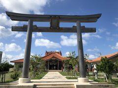 宮古神社に来ました。 ここは今回の旅で是非最初に訪れてみたかったところ。