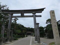 2日目は、ぐるっと能登半島ドライブへ!  一か所目は、気多神社へ。  縁結びの神様らしいです。