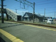 下浜駅通過。順調に走っている。