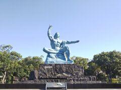 そして平和記念像です。