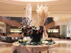 本日の宿は、ヨコハマグランドインターコンチネンタルホテル。