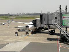 YCATから羽田空港まで22分で着き、さっさと保安検査場を抜けて今回搭乗する飛行機へ。 ラウンジが利用できる方ならもう少し余裕をもっていきたいですね。