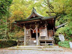 奥社の隣には、戸隠五社のひとつである九頭龍神社があります。