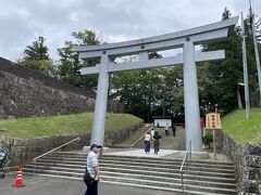10分ほどで到着した仙台城址。