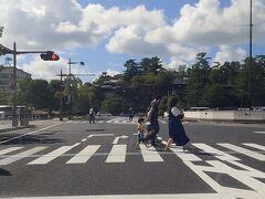 さらに走ると次の目的地である松江城が見えてきた