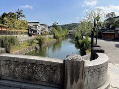 倉敷川畔は雰囲気が良く まさに美観!