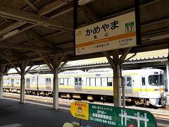 亀山は、JR東海とJR西日本の境界駅。。