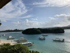 翌日は川平湾 相変わらずすばらしい眺め  で、空港へ向かいます、、、
