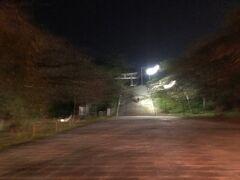 光雲神社への参道と鳥居