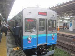 熱海からは伊東線に乗換 電車は伊豆急の車両ですけどねっ☆彡