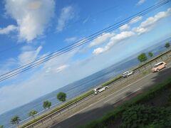 このあたりは別府湾沿いに走り美しい眺めが楽しめます。