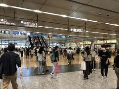名古屋駅、人出が戻ってきた