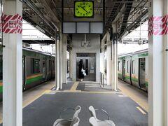 小金井駅到着 ここがどこらへんなのか 地理上全くわからず駅員さんに尋ねると 宇都宮はもう少し先らしい しかしこの日 電車は遅れていた