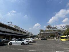 10:05の送迎車に乗って 福山駅へ戻りました  次は下関を目指します