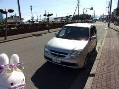 旅行日2日目(9月30日)、続きです。  新潟港から佐渡汽船ジェットフォイルに乗って9時ちょっとすぎに両津港へ到着しました。 予約したレンタカー会社で手続きしてから早速レンタカーで佐渡島をぐるぐる巡ります!