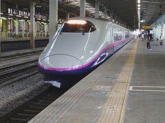 そんな長岡駅の新幹線ホーム12番線から8時49分発の「とき310号東京行き」に乗車して越後湯沢駅に向かいます。