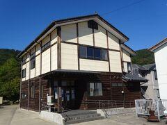粟島浦村資料館(200円)島の歴史がよく、分かりました。(係の人が説明をしてくれました。)