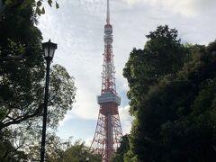 ◎芝公園 やっと、東京タワーの上から下まで見えた~