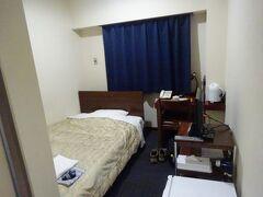 宿泊した酒田セントラルH(部屋)