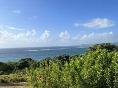 台風18号の影響か、風が強い。 綺麗な景色に癒されます。