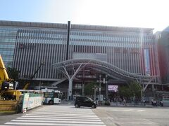 博多駅博多口 駅近のホテルって鉄道利用の時には本当に便利!