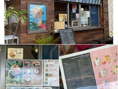 そして、このホテルの1階にあるマンゴーファームキッチンでひと休み♪  台湾に行かれないから、沖縄でマンゴーを堪能します(^o^) 何にしようかな~♪  ★Mango Farm Kitchen https://mangofarmkitchen.com/