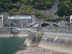 帰路にも奈川渡ダムに駐車して景色を眺めましたが、観光的には唯の風景に感じました