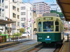 ⑩八劔神社  最後の二社に向かうため『崇福寺』行きに乗ります。