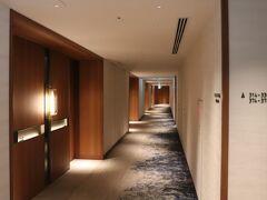 本日の宿は、インターコンチネンタル横浜Pier8。 久しぶりにダウンタウンサイド。