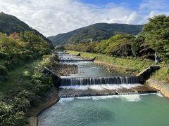 宮城野の早川堤。 大雄山からここまで、ほぼ休憩なしで5時間のハイキングでした。