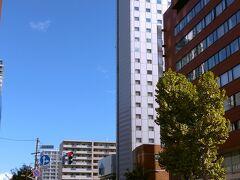 ちょうど二時間で札幌駅北口に到着。 徒歩10分で、2泊目のANAクラウンプラザホテルに。