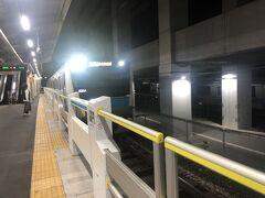 地元東十条駅は5時15分発京浜東北線南行で。