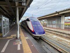 結局2分遅れで目的地の大石田駅に到着。