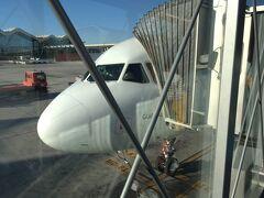 <バラハス空港 (マドリード)>  10/5(金)10:20 バラハス空港を出発。  MAD10:20→HEL15:30 AY1662(所要4時間10分) 日本との時差はマドリード(-7時間)、ヘルシンキ(-6時間)