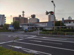 人生初の島根県!最初の都市は県庁所在地である松江にしました。