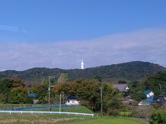 車内から東京湾観音がきれいに見えました 見る度に今度、行ってみたいと思うのですが…なかなか(笑)