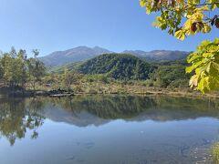 まいめの池からの乗鞍岳①