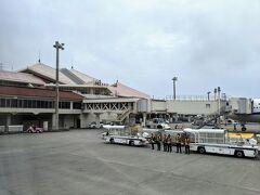 宮古空港に到着。
