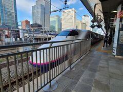 東京駅から「とき」に乗車。