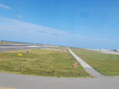 那覇空港に、無事到着です。 安全運航ありがとうございますm(_ _)m