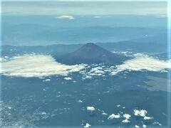 ANAダイアモンド修行の時は なかなかお会いできなかった 富士山です。 やはりお会いできると嬉しいですね