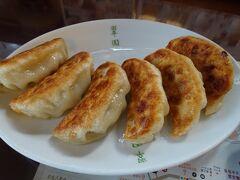栃木=宇都宮と言えば、餃子よねぇ~  中華屋さんの餃子は間違いなし!の美味しさでした。