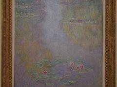 こちらは、東京富士美術館所蔵の「睡蓮」1908年。11月30日から特別出展されるそうです。 ※ 本展覧会での撮影ではありません。