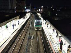 「十条駅」に戻って、そろそろ帰ります。笑