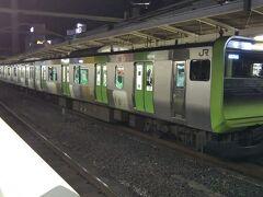 「池袋駅」では渋谷駅ホームの工事に伴い、山手線内回りがここで終点。  回送電車は一度、新宿方面に引き上げて、渡り線を使って内回りから外回りのホームに入線して、池袋を始発扱いで出発するということをやっていました。