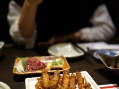 ホテルの近くにあった居酒屋で名物料理を堪能し、初日の旅程はこれにて終了。  竹乃屋 祇園店 https://www.umakamonya.com/shoplist/shop38