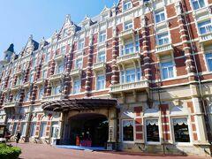 ホテルヨーロッパに入るのは初めて!  ハウステンボス内の「ハーバータウン」という無料ゾーン(ハーバーゾーン)にあるので、チケットがなくても行けるようです。